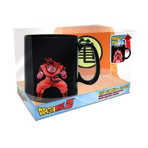Aby Dbz Goku Magic Mug N Coaster 1110