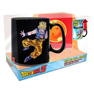 Aby Dbz Goku Vs Buu Magic Mug & Coa 1111