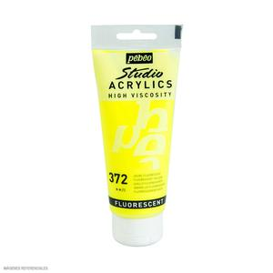 Acrílico 100Ml 372 Amarillo Fluorescente