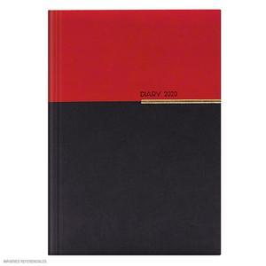 Agenda 2020 Premium Gris/Rojo Artesco