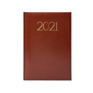 Agenda 2021 Compresso Marron Artesco