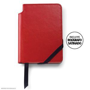 Agenda Cross Small Rojo Classic + Bolígrafo Sat