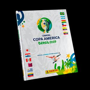 Album Panini Copa America 2019 (T/Dura)