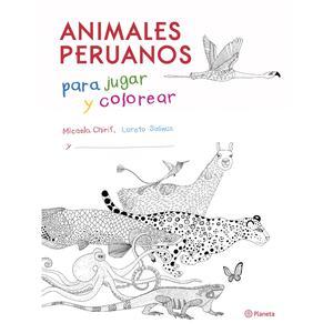 Animales Peruanos Para Jugar Y Colorear