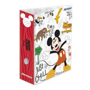 Artesco Archivador Plastificado Oficio L/Anch Mickey