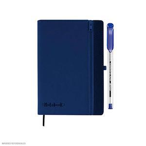 Artesco Libreta Zipper Azul