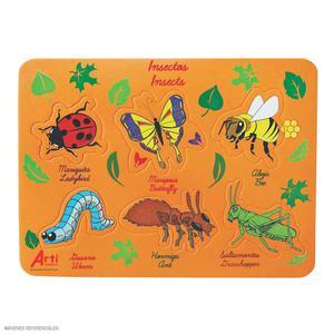 Arti Creativo Encaje Goma Eva Insectos
