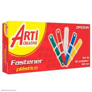Arti Creativo Fastener Cja X 50 Plast Colores