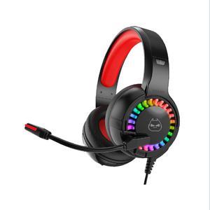 Audifono Gamer Halion Ha-H841 Luz Rgb
