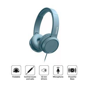 Audifono Philips Diadema On Ear Tah4105 Azul