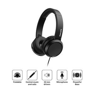 Audifono Philips Diadema On Ear Tah4105 Negro