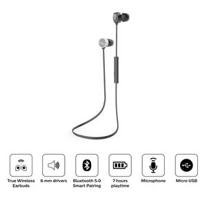 Audifono Philips In Ear Bluetooth Taun102 Negro