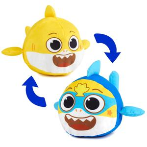 Baby Shark Peluche Reversible Super Bby