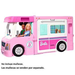 Barbie Cámper De Barbie 3 En 1