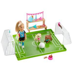 Barbie Dha Chelsea Fútbol C/Mascot Ghk37