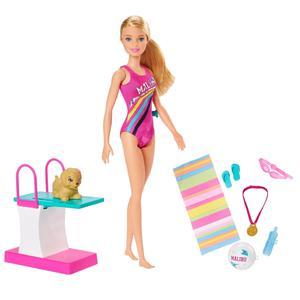Barbie Dreamhouse Adventu Nadadora Ghk23
