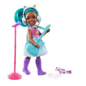 Barbie Mundo De Chelsea Profesion Rockstar