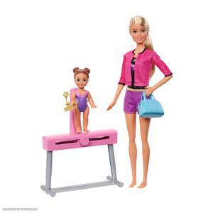 Barbie Muñecas Deportes Gimnasia Fxp39