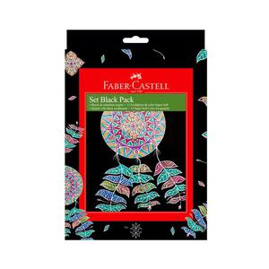 Black Pack + Ecolapices Soft X 12 Faber Castell Mandala