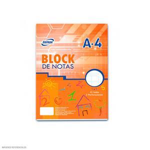 Block A4 40 Hojas Cdmax College