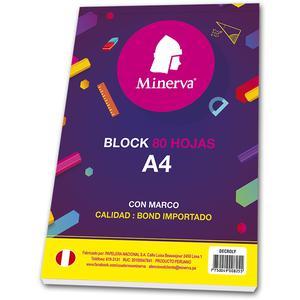 Block A4 80 Hojas Croly 2 Perforaciones Minerva