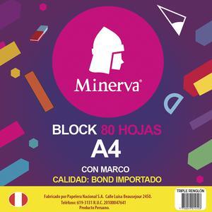 Block A4 80H Dray 2 Perf Minerva 031165