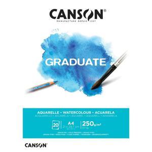 Block Aqua A4 20H 250G Graduate Canson