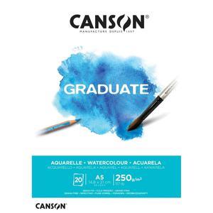 Block Aqua A5 20H 250G Graduate Canson