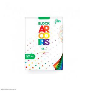Block Arco Iris A4 Loro