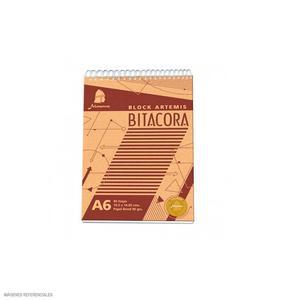 Block Espiralado Bitacora A6 Minerva