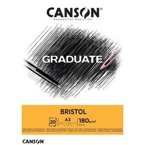 Block Bristol A3 20H 180G Graduate Canson