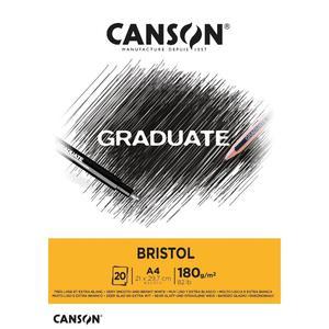 Block Bristol A4 20H 180G Graduate Canson
