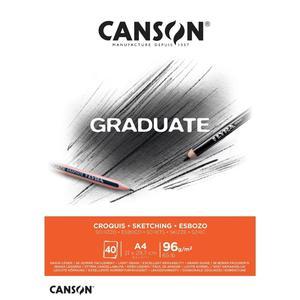 Block Croquis A4 20H 96G Graduate Canson