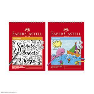 Block De Dibujo Espiralado Faber Castell