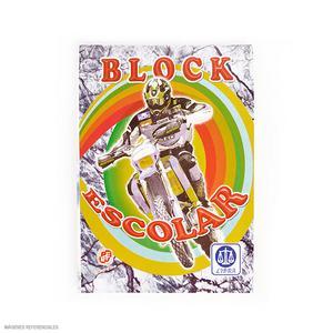 Block Escolar 46 Hojas Cuadriculado Libra