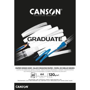 Block H Negro A4 20H 120G Graduate Canson