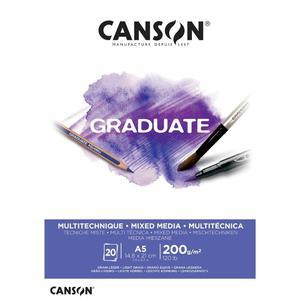 Block Mix Me A5 20H 200G Graduate Canson