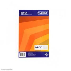 Block Oficio 50H Cuadriculado