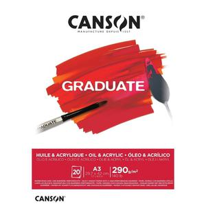 Block Ol Acr A3 20H 290G Graduate Canson