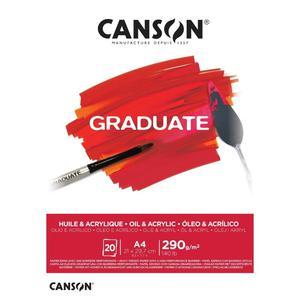 Block Ol Acr A4 20H 290G Graduate Canson
