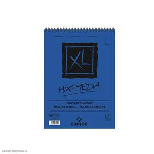 Block Xl Espiral Mixmedia 14.8 X 21 15H 300G