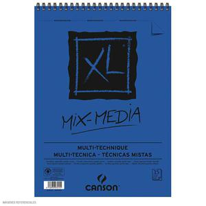 Block Xl Espiral Mixmedia 42 X 59.4 15H 300G