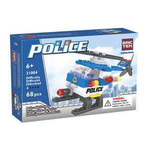 Bloques Brictek Police Helicopter