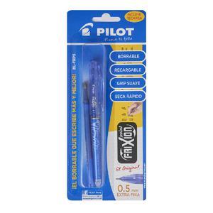 Bolígrafo Pilot Frix Point Blfrp5 Azu+Rptox1