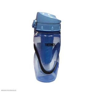 Botella Deportiva Plástico Azul 0.45L Thermos