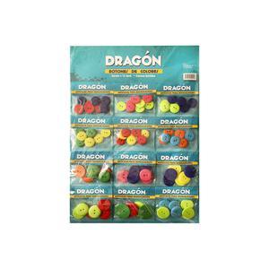 Botones Plancha X12 Dragón