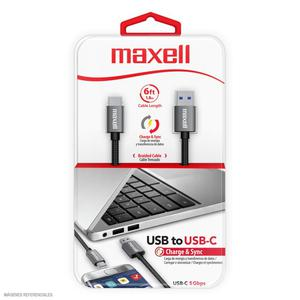 Cable Maxell Usb-C Tipo C