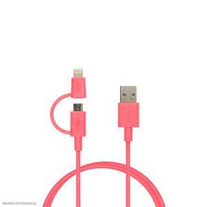 Cable Team Micro Usb+Apple Ro/Ng Twc02