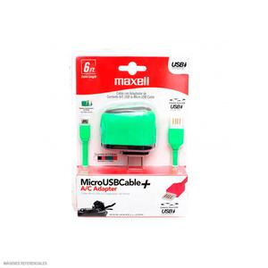 Cable Usb A Micro Usb Reversible Musb-600 Verde