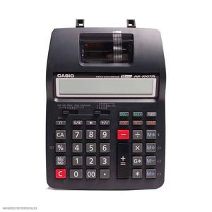Calculadora 12 Dígitos Hr-100Tm Con Wincha